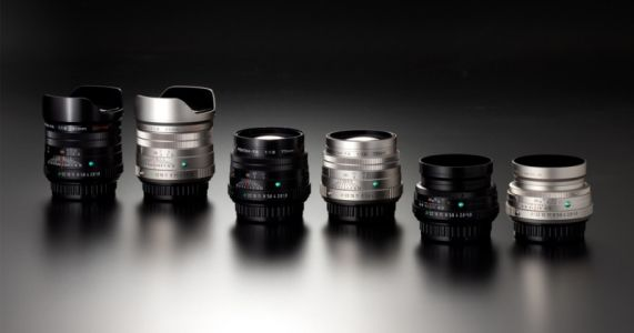 Pentax Unveils Three 'Limited Lenses' for K-Mount SLR Cameras
