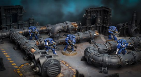 Showcase: Sector Mechanicus Thermic Plasma Conduits