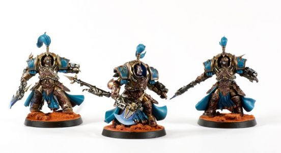 Showcase: Adeptus Custodes Allarus Custodians by Rich