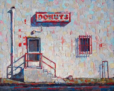 Donuts Back Door