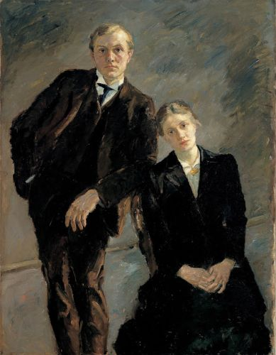 Max Beckmann Portrays His Wives