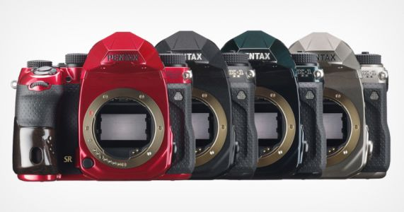 Pentax Unveils K-1 Mark II J Limited 01 Recolors, Plans Four More Lenses