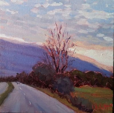 Contemporary Art Landscape Oil Painting Heidi Malott