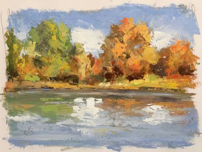 """""""FALL IS IN THE AIR"""" by TOM BROWN"""