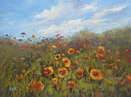 My Secret for Painting Wildflowers