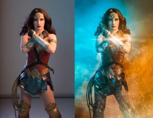 A Photo Shoot with Wonder Woman