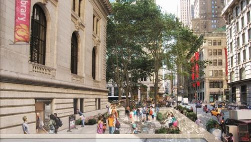 Mecanoo and Beyer Blinder Belle Unveil $317 Million Masterplan for the New York Public Library's Main Branch