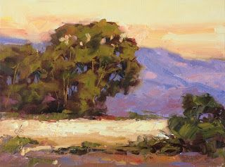 CALIFORNIA IMPRESSIONIST SUNSET by TOM BROWN