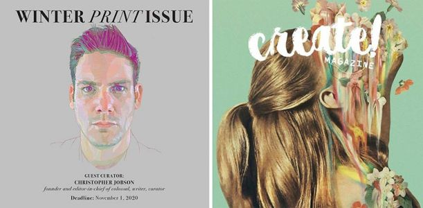 Call for Art: Submit Your Work to Create! Magazine's Next Print Issue Before November 1