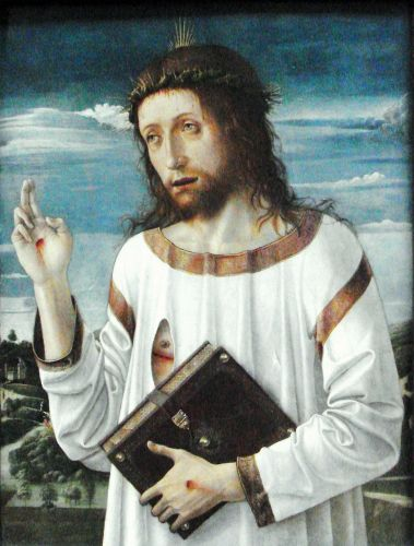 1460 Giovanni Bellini Christ's Blessing