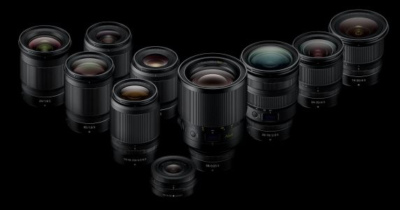 Nikon Reveals Updated Z-Mount Lens Roadmap with Nine New Lenses