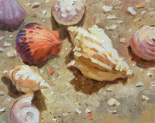 SEA SHELLS, VACATION MEMORIES by TOM BROWN