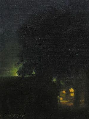 Nocturne, Citylights In Fog