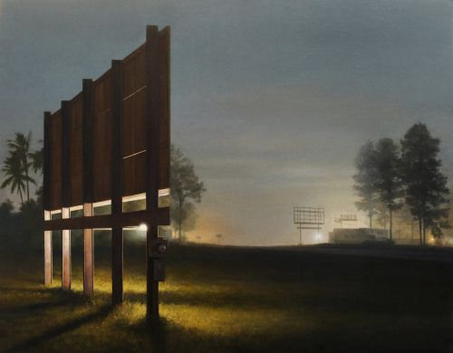 Crossconnectmag: Nightscape Paintings by Stephen Fox Stephen