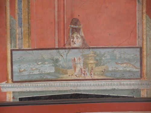 Perspective in Pompeii Paintings
