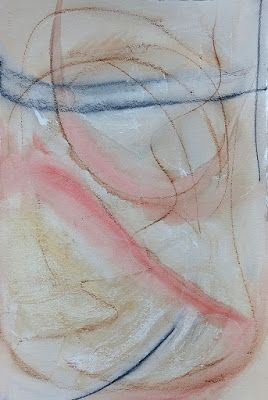 """Mixed Media Painting, Contemporary Art, """"Wing"""
