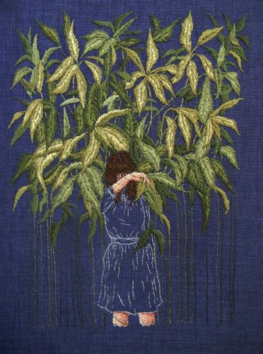 Beautiful Embroideries by Michelle Kingdom  My work explores