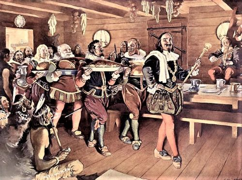 1578 Colonial Thanksgiving in Newfoundland