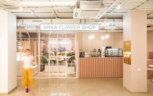 ARKA Flower Shop / Maly Krasota Design