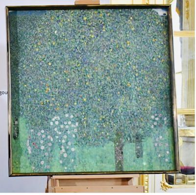 A painting finally returned to the heirs of the rightful owner
