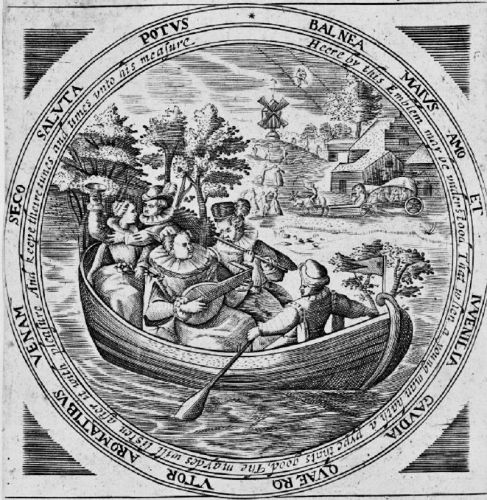 17C SPRING Boating Parties - Making Music & Gathering Newly Green Branches