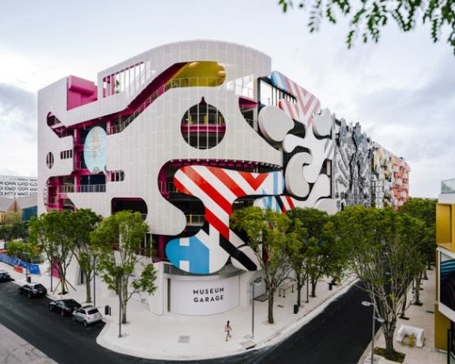 Miami Museum Garage / WORKac + Nicolas Buffe + Clavel Arquitectos + K/R and J. MAYER. H