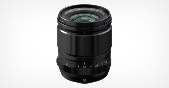 Fujifilm Announces the XF18mm f/1.4 R LM WR Lens