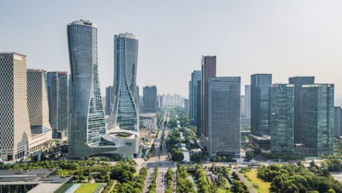 A Close Look at UNStudio's Dynamic Lines Shaping a New District in Hangzhou in a Video by donotsettle