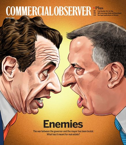Cover for The Commercial Observer