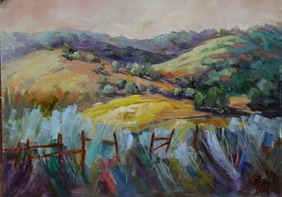 "Contemporary Colorado Landscape Painting, Mountains, Fine Art Oil Painting ""Day After Day"" by Colorado Contemporary Fine Artist Jody Ahrens"