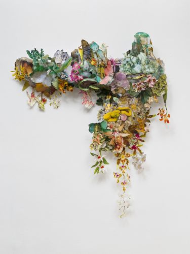 Overflowing with Flora and Fauna, Collaged Paper Installations Comment on Earth's Dwindling Biodiversity