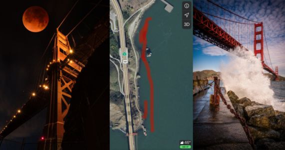Golden Gate Bridge Officials Go After Photographer for Photo Taken from 'Illegal Angle'