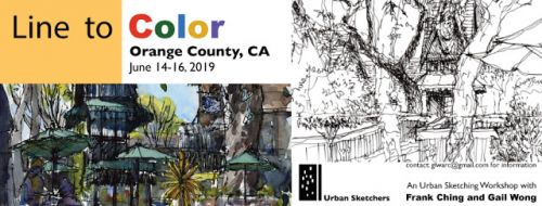 USk Workshop: Line to Color Workshop in Orange County, CA