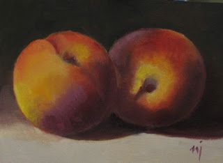 Two Peaches - SOLD