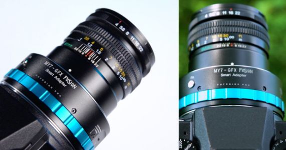 This Adapter Lets You Use Mamiya 7 Leaf Shutter Lenses on Fujifilm GFX Cameras