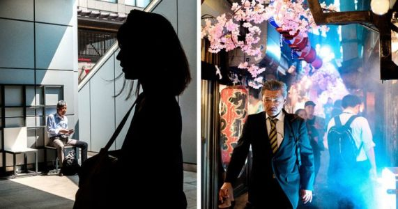 Cinematic Street Photos of Japan by Day and by Night