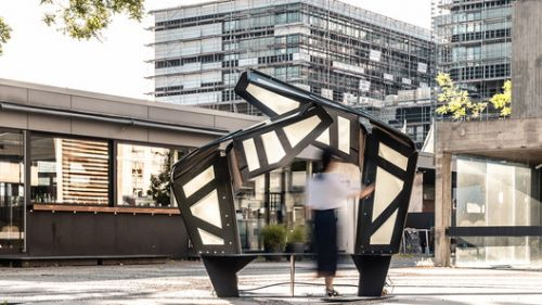 ITECH Research Demonstrator Explores the Adaptive Architectural Realm