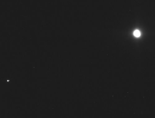 This Photo of Earth and the Moon Was Shot from 71 Million Miles Away