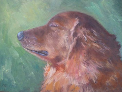 Animal Portrait, Your Favorite Pet Painting, Small Oil Painting, Daily Painter