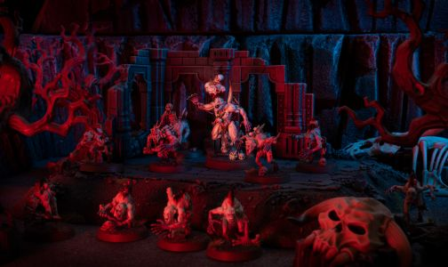 Showcase: Flesh-eater Courts Abhorrent Ghoul King and Crypt Ghouls