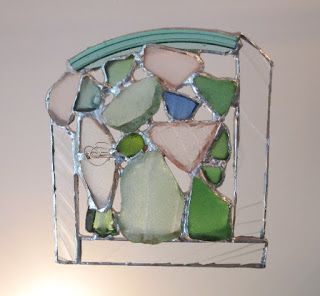 Sea Glass Suncatchers