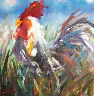Little Red Rooster by Kay Wyne