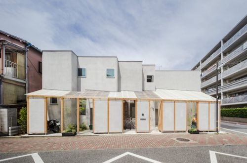 House in UMEJIMA / I.R.A