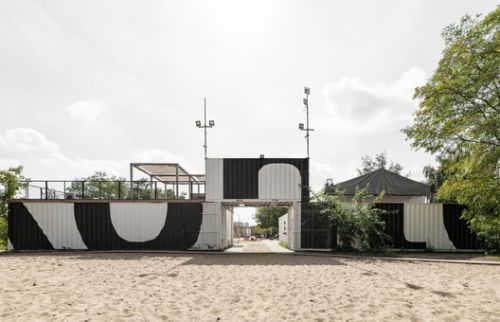 Kontenerart 19 Cultural & Recreational Space / wiercinski-studio