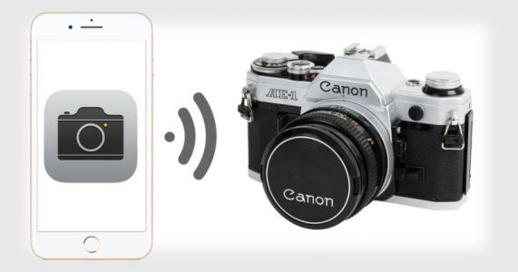 The iPhone's Shutter Sound is a Canon