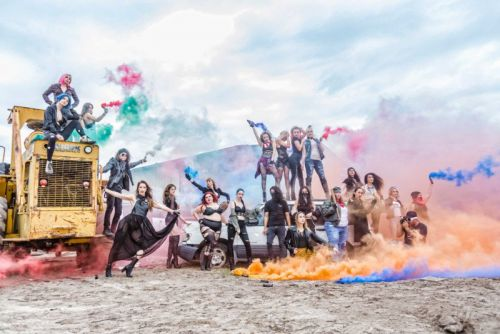 Smoke Bomb Photos: What I Learned Shooting Models in a Junkyard