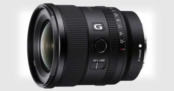 Sony Unveils 20mm f/1.8 G: Its Widest Full-Frame E-Mount Prime Lens Yet