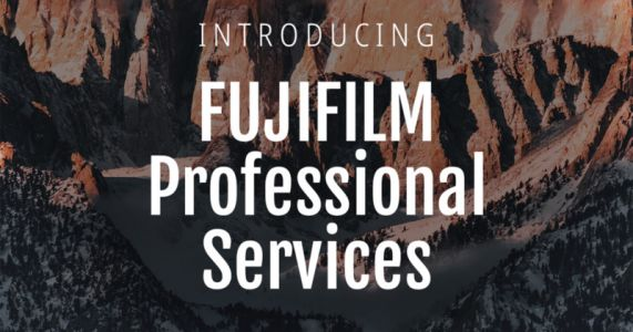 Fujifilm Launches Professional Services Program for Working Pros