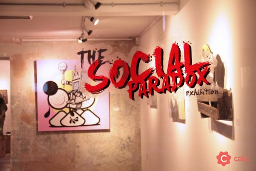 "Recap: ""The Social Paradox"" Group Exhibition London's Calio"