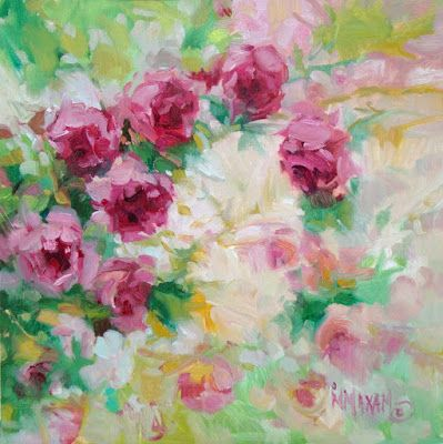 Pink Rose Bower, auction listing